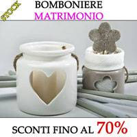Stock Bomboniere Matrimonio.Bomboniere In Stock Outlet Bomboniere In Offerta Low