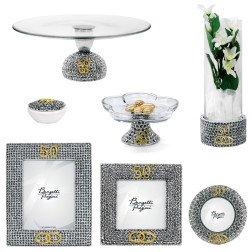 linea fedi 50° anniversario in argento per nozze d'oro