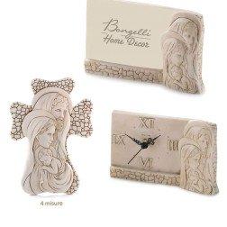 bomboniere in marmo sacra famiglia effetto pietra made in italy