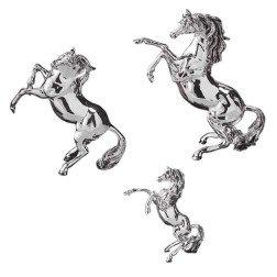 bomboniera cavallo in argento