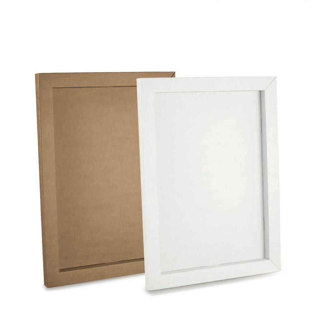 Pannello Con Cornice Per Tableau De Marriage Fai Da Te In Cartone Bianco O Marrone