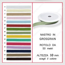 grosgrain 10 mm x 50 mt