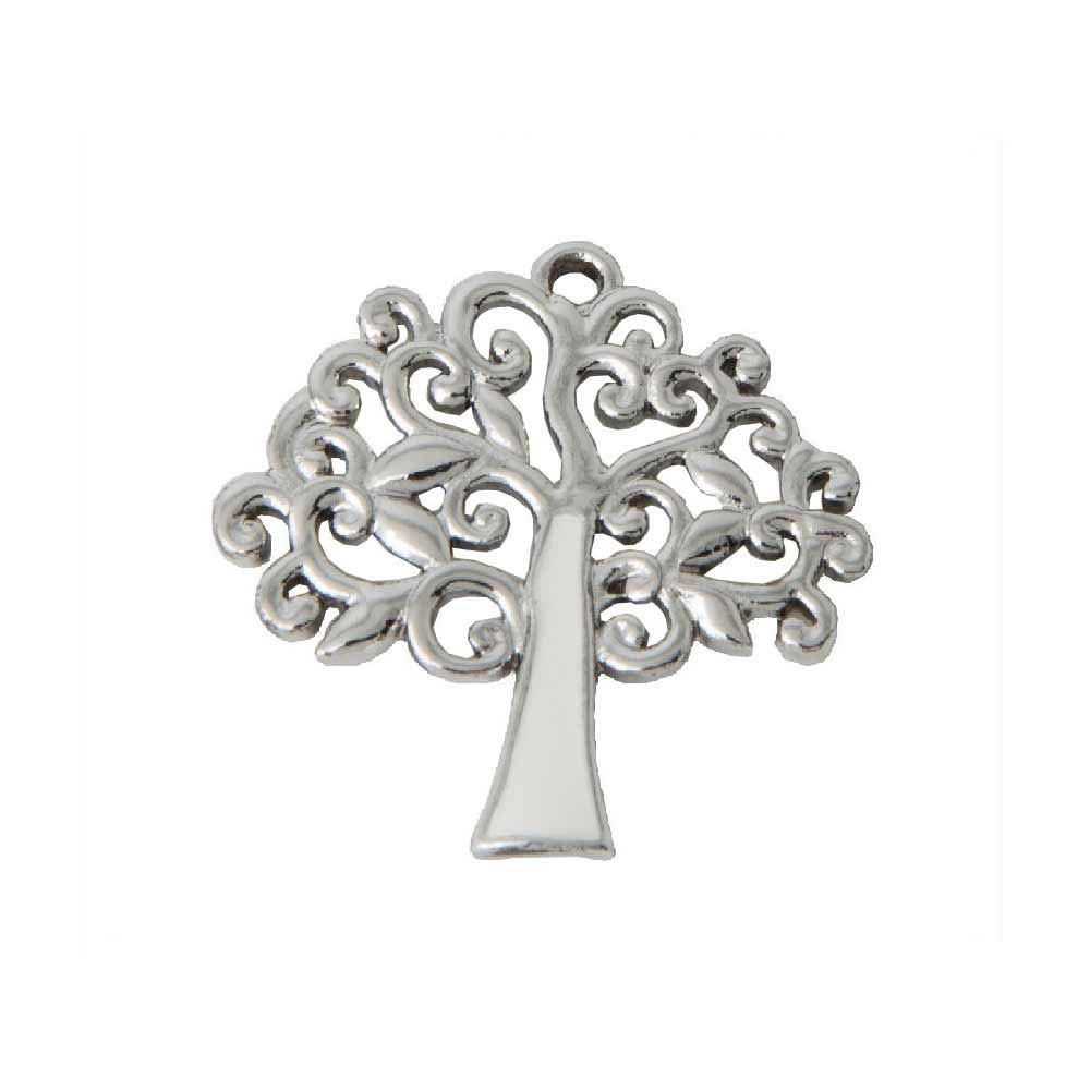 Ben noto ciondolo albero della vita per bomboniere argento e LC49