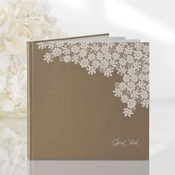 guest book 22 pag. shabby chic