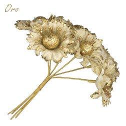 fiore oro per bomboniere fai da te