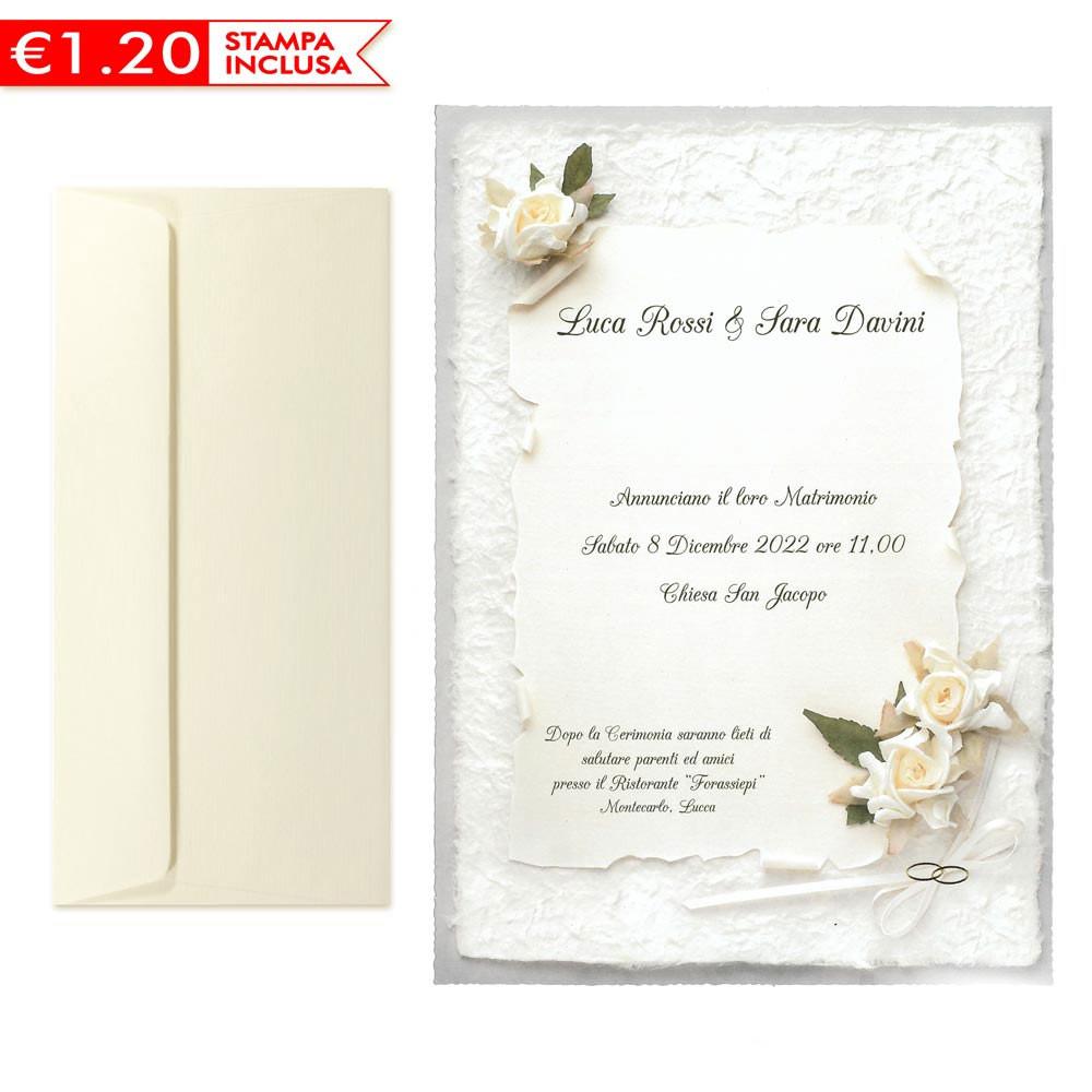 Partecipazioni Matrimonio Da Compilare E Stampare.Partecipazioni Matrimonio Classiche 2020 Stampa Omaggio