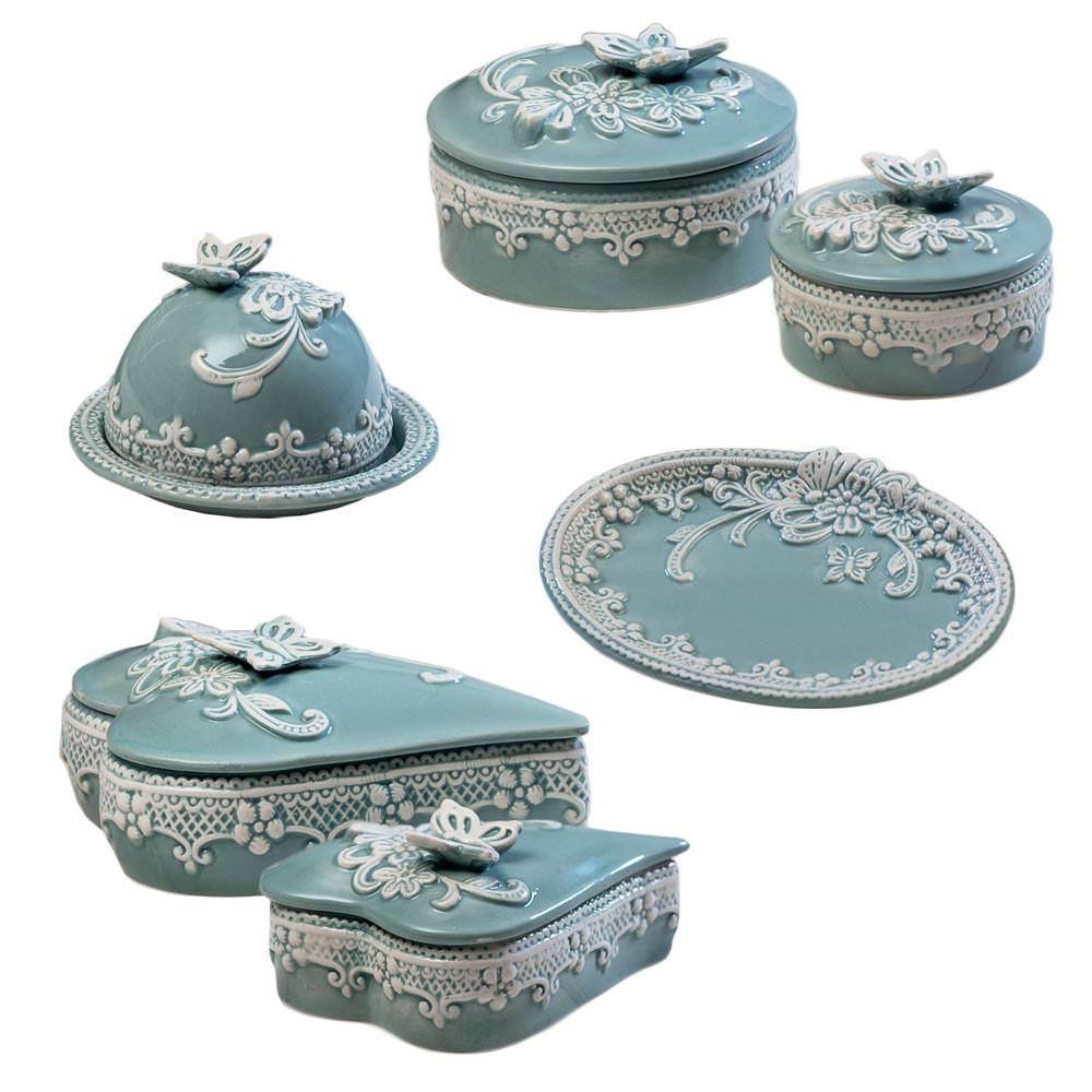 Bomboniere In Ceramica Per Matrimonio.Bomboniere Porcellana Per Matrimonio Tiffany Shabby
