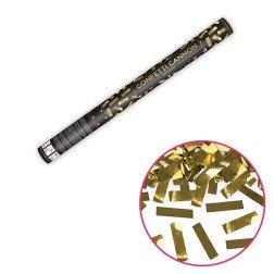 cannone sparacoriandoli 60 cm coriandoli oro