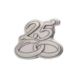 Bomboniere nozze d 39 argento economiche originali for Pensieri per 25 anniversario di matrimonio