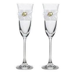 coppia flute calici per sposi matrimonio e nozze