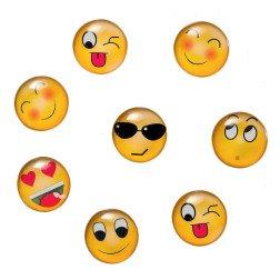 bomboniera faccine smile emoticons emoji magnete