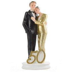 centro torta nozze d' oro 50 anni matrimonio