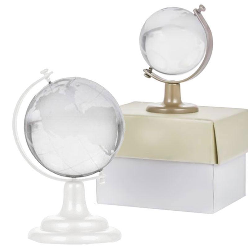 1 x Strang Bergkristall gefrosted Kugel 8mm Perlen ohne Verschluss 9907-1E