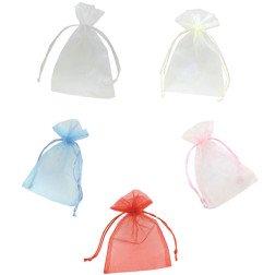 sacchetto organza 10x15 vari colori