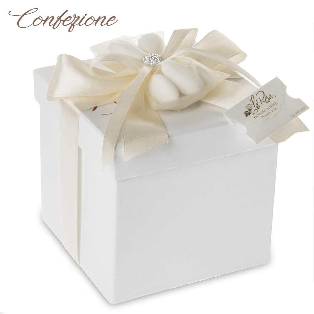 Confezioni Per Bomboniere Matrimonio.Bomboniere Matrimonio 2020 Sposi Che Si Baciano Sotto