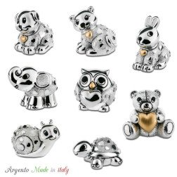 bomboniere animali in argento made in italy