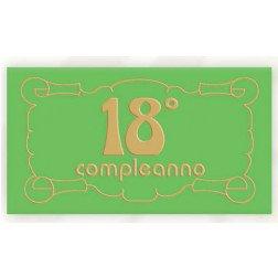 18° compleanno conf. 5 pz