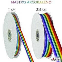 nastro arcobaleno in tessuto