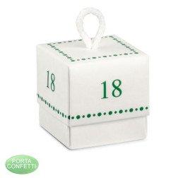 Bomboniere 18 anni compleanno scatoline portaconfetti
