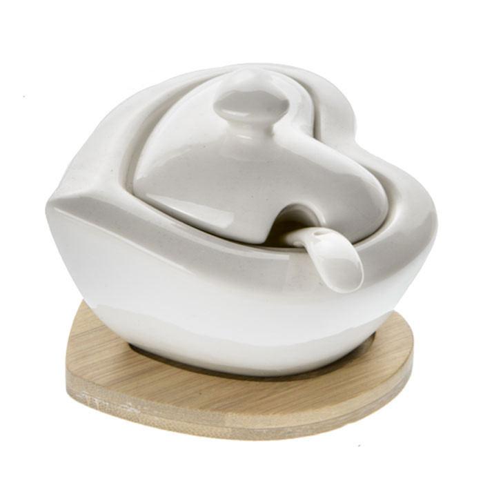 Bomboniere Matrimonio Zuccheriera.Bomboniere Utili 2020 Zuccheriera Cuore In Porcellana