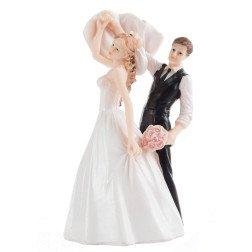 cake topper matrimonio sposi ballerini