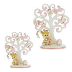 bomboniera albero della vita portafoto rosa