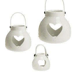 Bomboniere originali 2019 lanterne bianche in metallo for Lanterne bianche