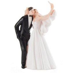 cake topper matrimonio sposi che si fanno il selfie