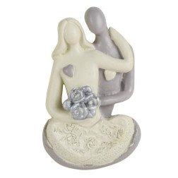bomboniere matrimonio 2018 originali magnete coppia sposi seduti Ghost