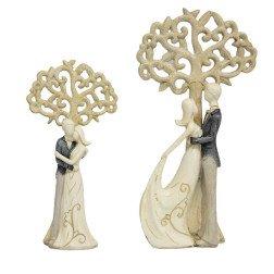 bomboniera matrimonio coppia con albero della vita classic