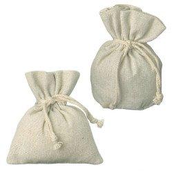 sacchetti portaconfetti shabby chic per bomboniere rustiche