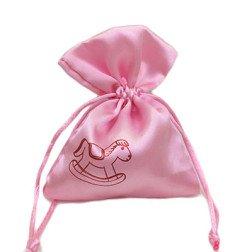 sacchetto rosa cavallino