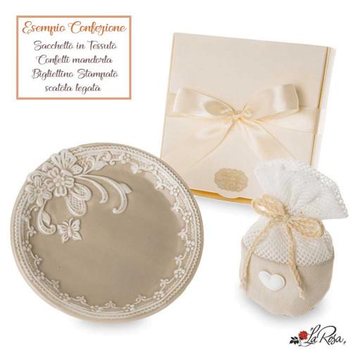 Bomboniere Matrimonio Chic.Bomboniere Piatti In Ceramica Decorata Shabby Chic