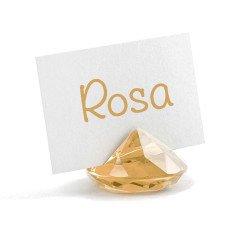 IDEA segnaposto originale a forma di diamante AMBRA