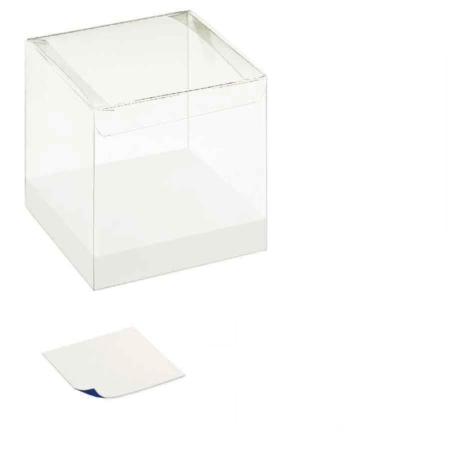 Scatole Su Misura Per Bomboniere.Scatole Pvc Plastica Trasparente Per Bomboniere Con