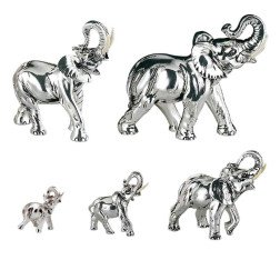 bomboniere elefante in argento