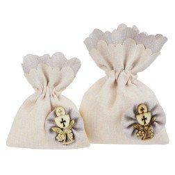 bomboniere per comunione fai da te sacchetti portaconfetti simbolo calice