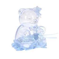 orso celeste portaconfetti