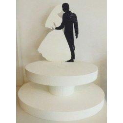 cesto sposi doppio