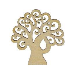 albero della vita per bomboniere in legno
