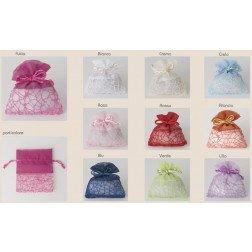 sacchetto rete vari colori
